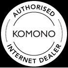 KOMONO Authorised Retailer